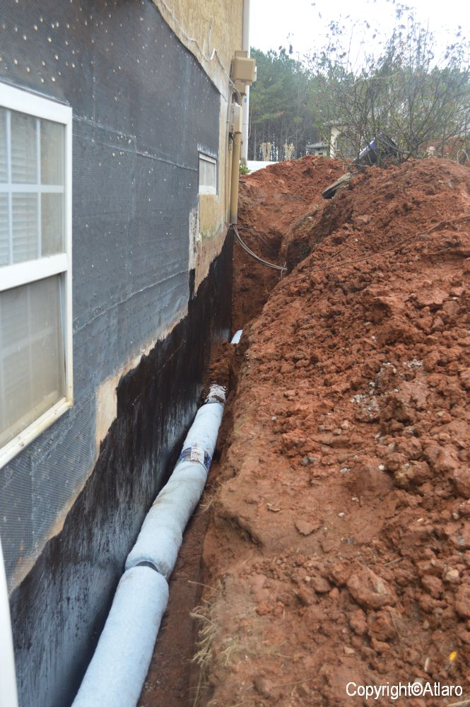 Waterproofing And French Drain Atlaro International Amp Co